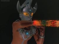 Taro fires Storium Ray in Ultraman Story
