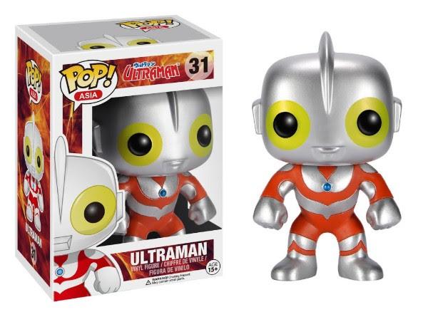 FigureGunplaFan/Funko Pop Ultraman & Kanegon figures.