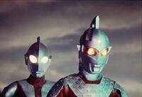 Original & Seven Return of Ultraman