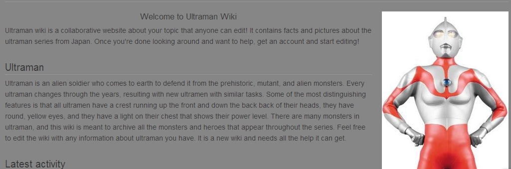 About: Ultraman