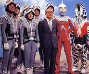 Ultra Garrison with Tsuburaya