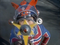 Kotaro henshin with Ultra Badge