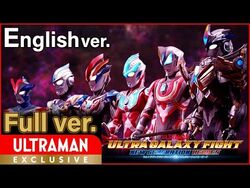 """-ULTRAMAN- Full episode ver. """"ULTRA GALAXY FIGHT-NEW GENERATION HEROES"""" English ver. -Official-"""