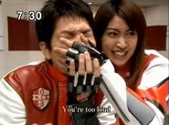 Mizuki gags Kaito
