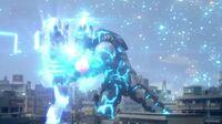 Ultraman X-Cyber Gomora and King Joe Screenshot 001