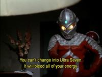 Superior warns Dan not henshin