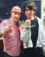 Hassei Takano with Kohji Moritsugu