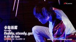 寺島拓篤 10thシングル「Buddy, steady, go!」Music Clip Short ver.
