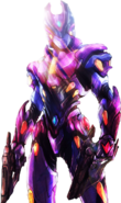 Ultraman taiga andro ares render by zer0stylinx ddhmwrk-fullview