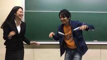 Riku Tatsuomi with Moa Mayu