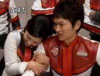 Poor Kaito, Pigmon (Elly) hug him
