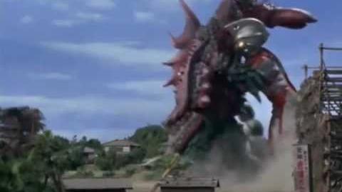 Ultraman Ace vs. King Crab
