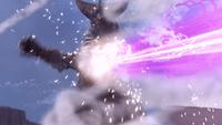 Gomora Ultraman Zero vs. Darklops Zero I