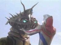 Bazob vs Ultraman Dyna