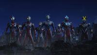Ultraman X the Movie All Ultras