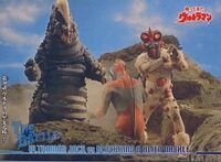 Ultraman Jack vs Blacking & Alien Nackle
