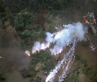King Galtan Ground Explosion