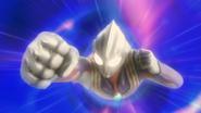 Tiga's rise in Ultraman X The Movie