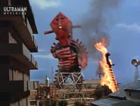 Alien Fire Flame Sword