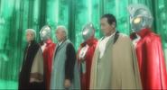 Jack, Ultraman, Ace & their human forms