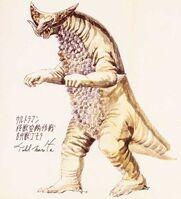 Tohl Narita Gomora concept art