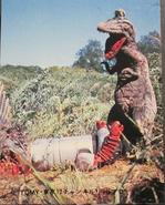 T-rex vs Big Lagee