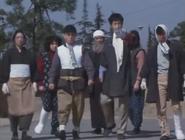 Antron as villagers