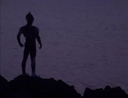 Ultraman's first appearance (in Tiga)