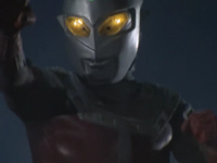 Delusion Ultraseven's fighting stance
