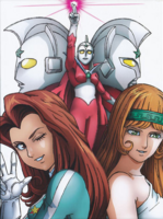 The Ultraman side characters