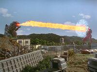 Daigerun vs. Ultraman Dyna 2