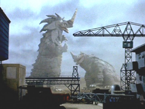 Terror of the Two Giant Monsters, Tokyo in a Giant Tornado