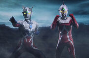 Ultraman Zero & Ultraseven in Shin Ultraman Retsuden.jpg