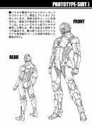 Prototype Suit Manga