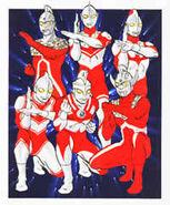 Ultra Brothers by Mamoru Uchiyama