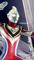 Ultraman Gaia supreme oh