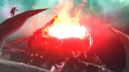 EX Red King Volcano Punch