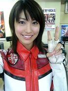 Hitomi selfie as Mizuki