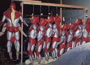 Ultraman-The-Ultimate-Hero-BTS-suits
