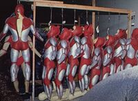 Ultraman-The-Ultimate-Hero-BTS-suits