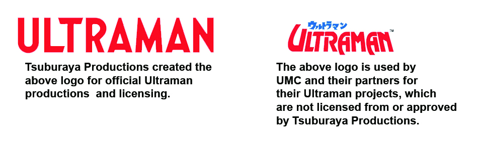 Ultraman Series/Licensing Disputes