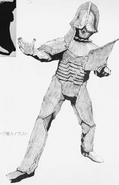Alien Borg concept art