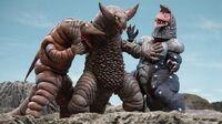 Gomora VS Telesdon and Golza
