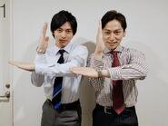 Takuji and Yuya