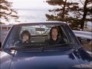 Hiroya with Reiko car