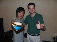 Takeshi with Esplender