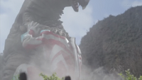 Gomora no ginga is an innocent baby who must not be hurt