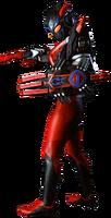 Ultraman X Darkness Gomora Armor render 3