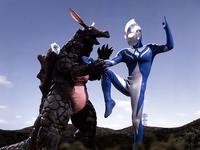 Eligal v Ultraman Cosmos