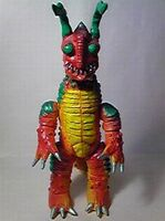 Red Mons toy